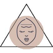 strahlender Teint im Gesicht
