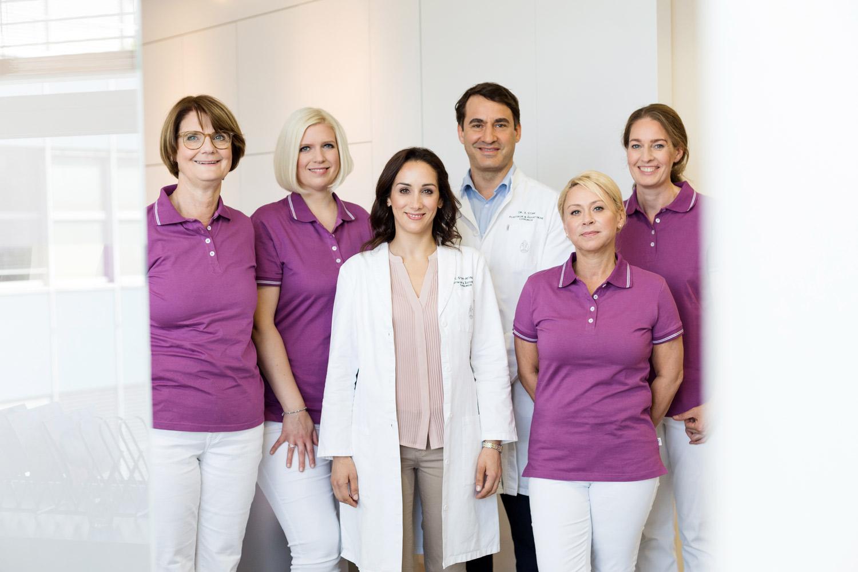 Praxisteam plastische und ästhetische Chirurgie
