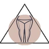 Fettverteilungsstörung Ober- und Unterschenkeln