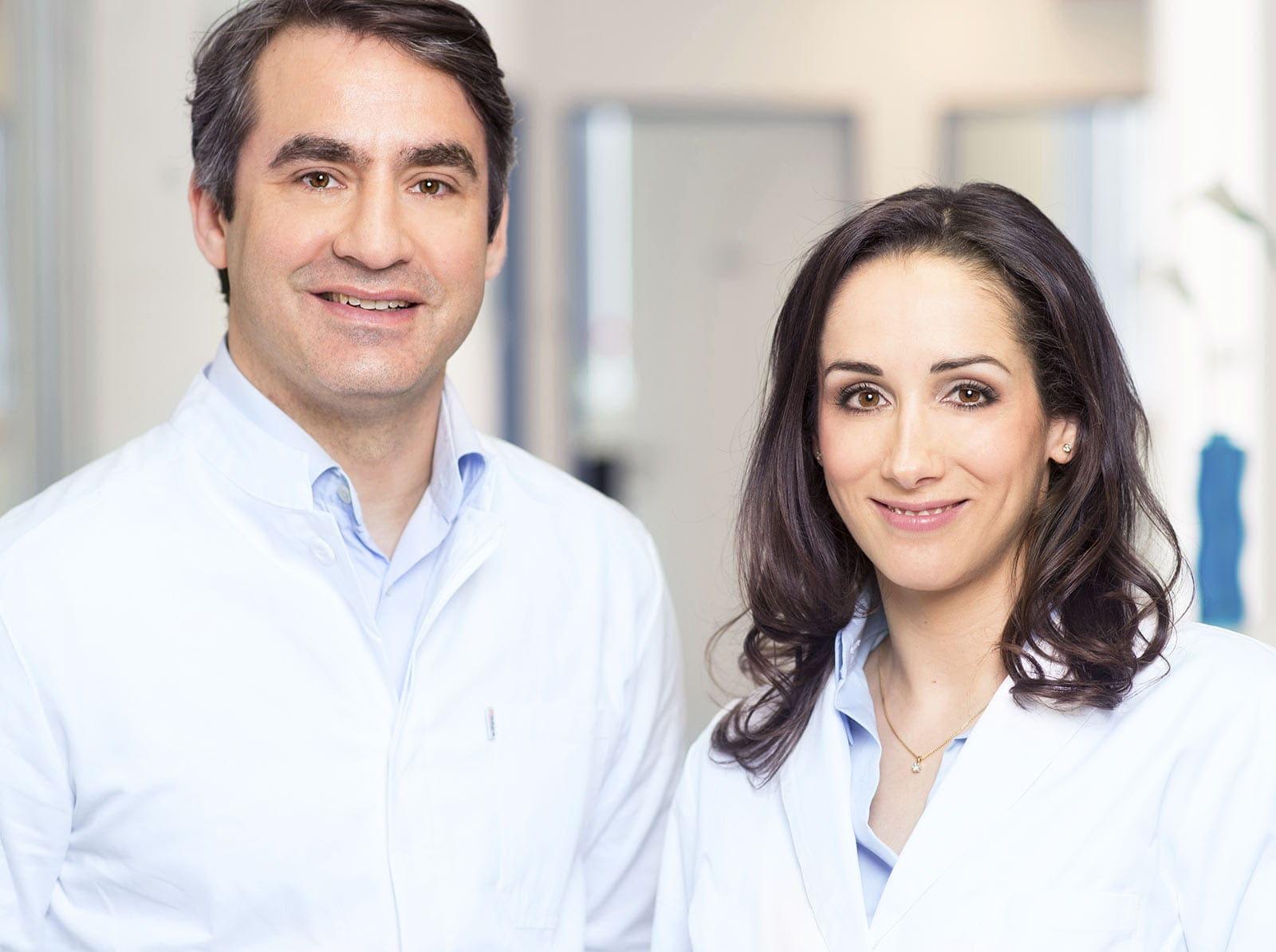 Ärzteteam plastische Chirurgie Koeln Dr. Stoff und Dr. Stoff Attrasch