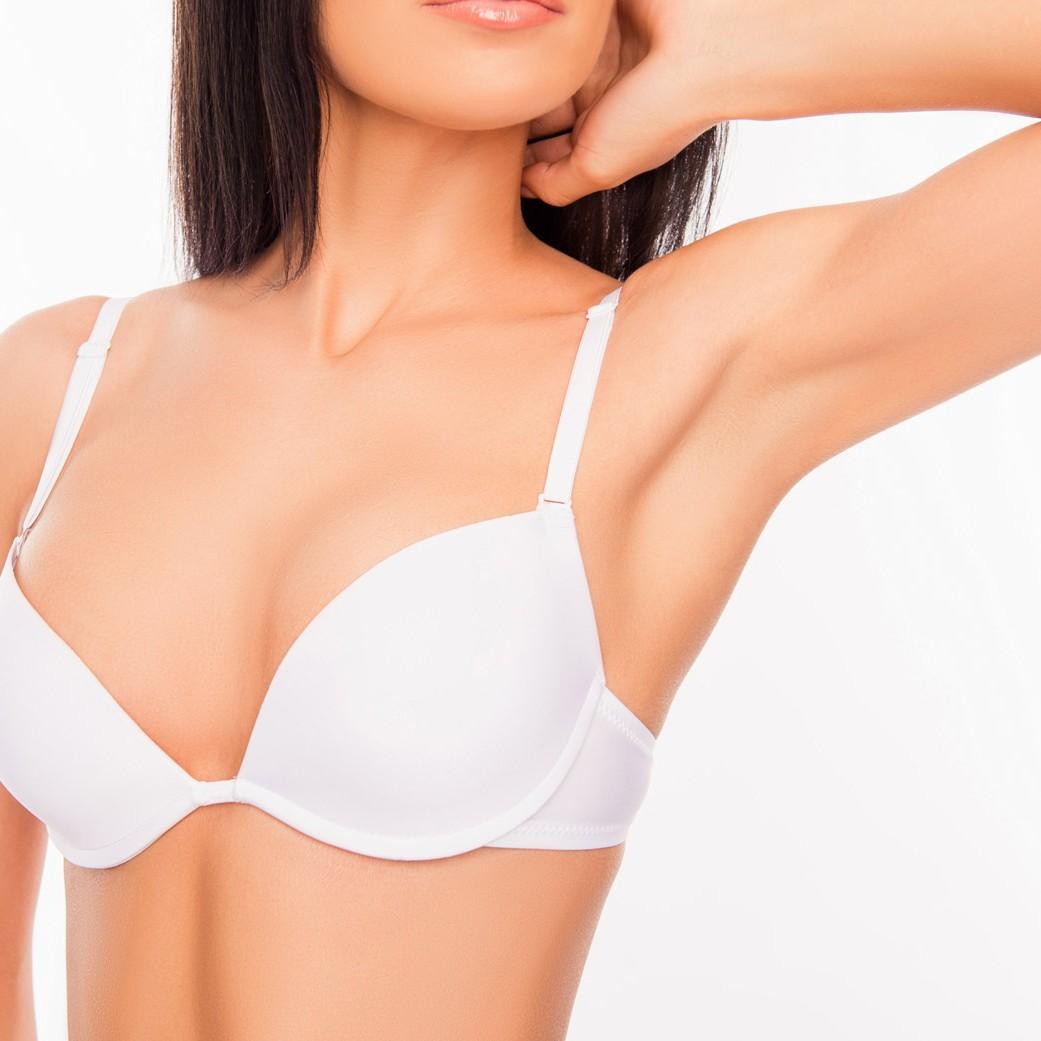 weibliche Brust straffen Stoff Attrasch