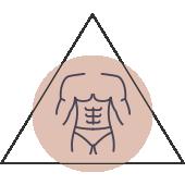 Gynaekomastie Vergrößerung der Brust Mann