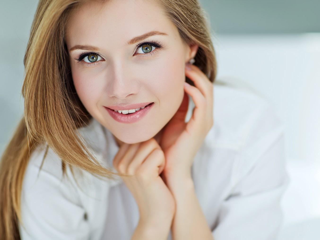 Hautalterung im Gesicht Lasertherapie